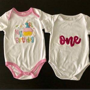 One Pieces - 1st Birthday 🎂 Onesies